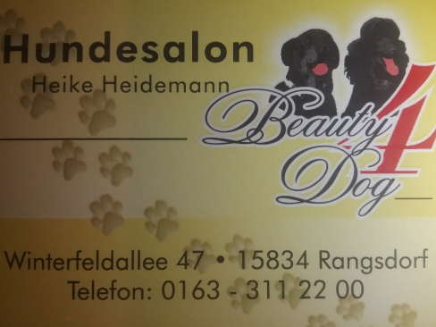 "Hundesalon Beauty "" 4 "" Dog"